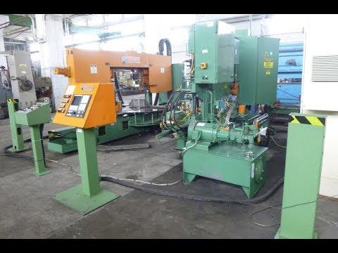 Pedinghaus Peddiline 600/3 CNC Sawing- and Drilling Plant
