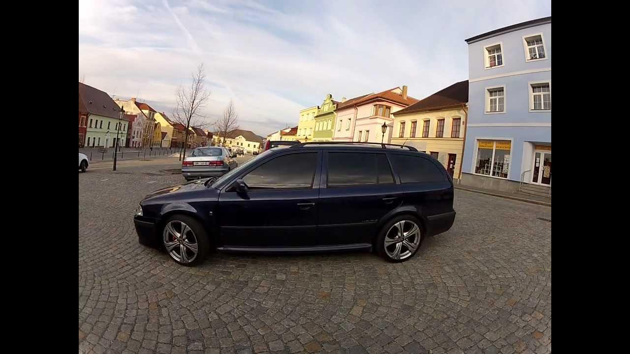 """Škoda Octavia TDi, 18"""" Rims, RS look"""