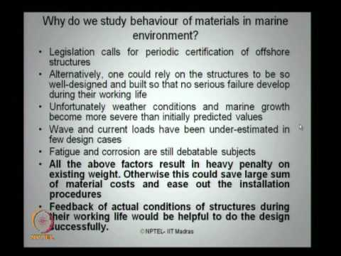 Mod-03 Lec-03 Concrete in marine environment