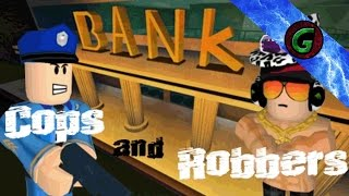 Roblox Cops and Robbers YA DARN JERK! - Roblox Gameplay