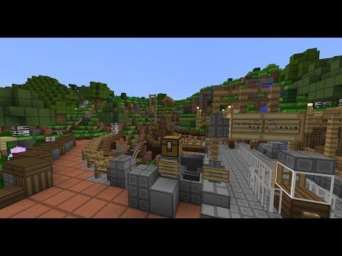 Minecraft - Seven Dwarfs Mine Train - DLIMC Resort (Custom)