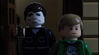 Lego Halloween 2018 Michael Myers PRANK (Stop-motion)