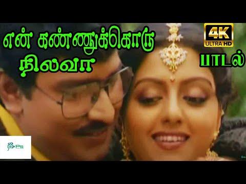 En Kannukoru Nilava ||என் கண்ணுக்கொரு நிலவா || S. P. B, S. Janaki ,Love Duet Song