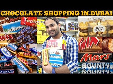Chocolate Bazaar in DUBAI   Best Cheapest Chocolates in DUBAI