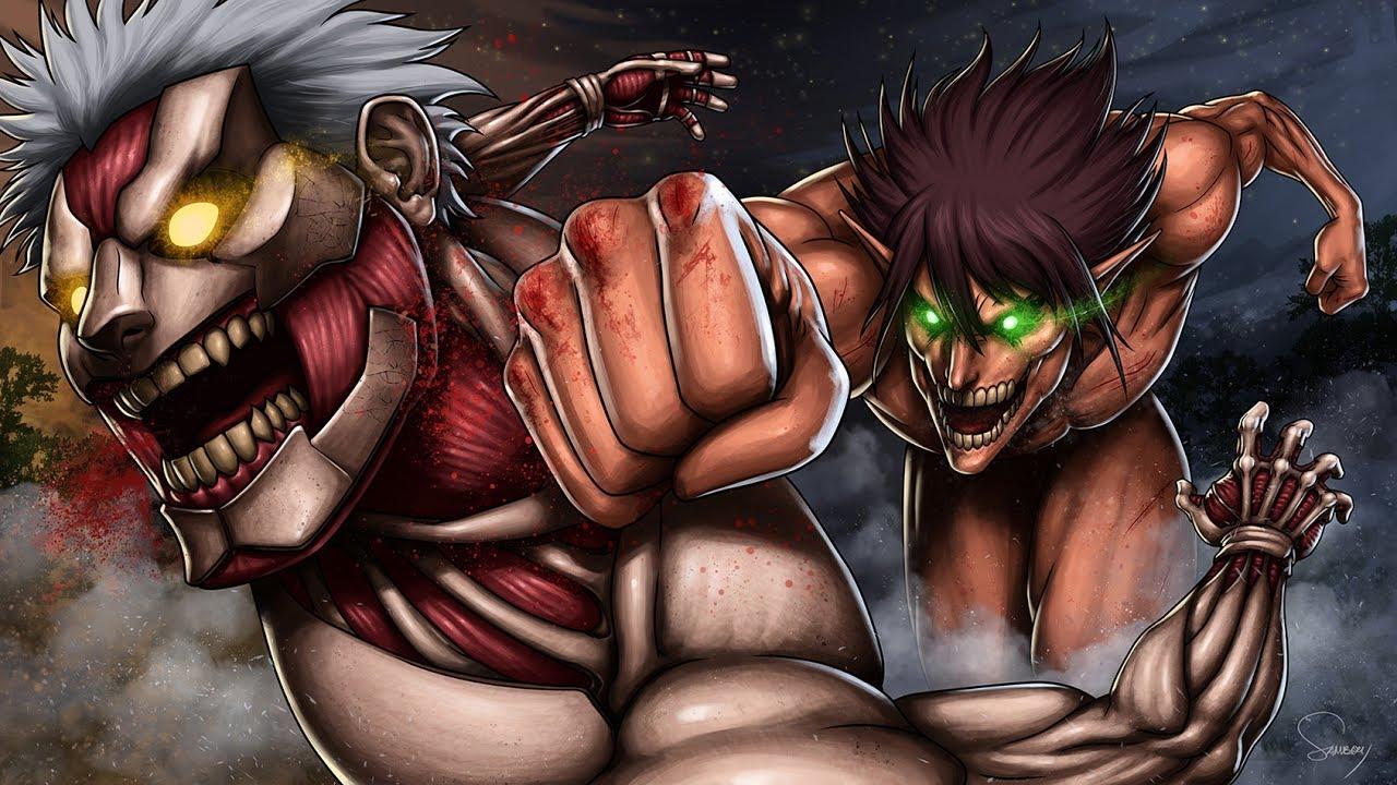 Attack On Titan Season 2 Ost Eren Vs Reiner Two Lives Youtube