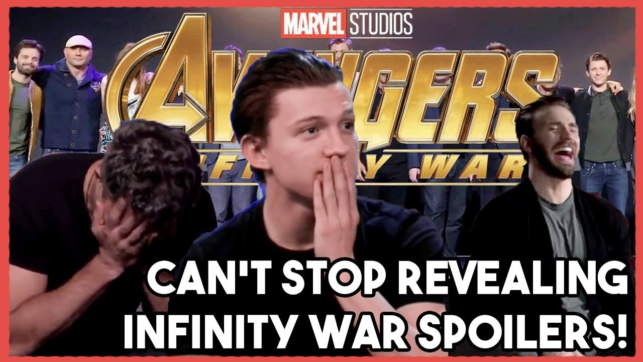 Download AVENGERS Cast Can't Stop their SPOILERS!    INFINITY WAR 2018