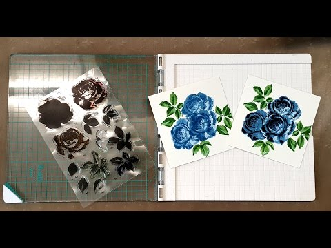 Precision Press (WeR MK) und Layered Stamps (Studio Light) | Tutorial vom grünen Wicht