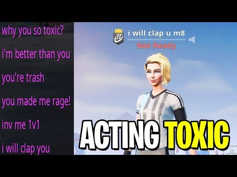 i USED a SOCCER SKIN and acted TOXIC in Playgrounds... (kid raged)