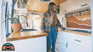 Her DIY Dodge Promąster Camper Van Tiny House - Downsizing To A Camper Van
