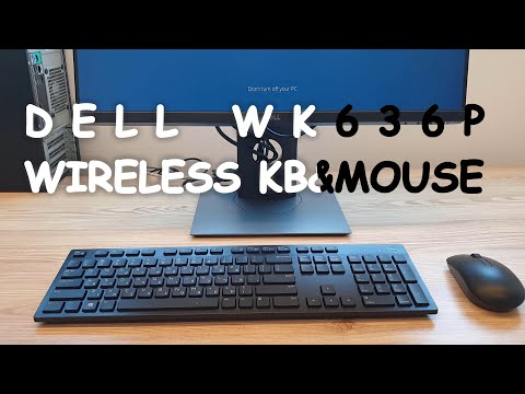 DELL WK636P WIRELESS KEYBOARD & MOUSE SET (4K60FPS)