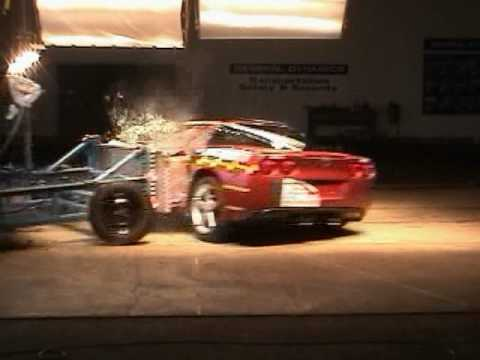 Chevrolet Corvette C6 NHTSA Side Impact