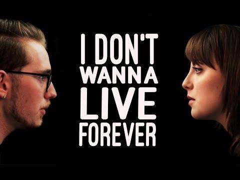 I Don't Wanna Live Forever  TGC Cover feat. Juliette Goglia