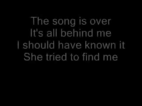 The Who The Song Is Over Lyrics
