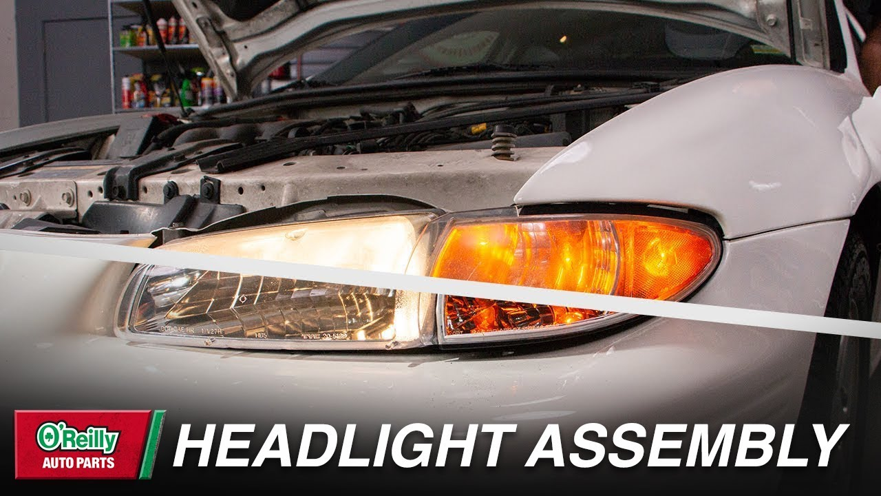How To Replace Your Vehicle S Headlight Assembly Youtube