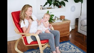 ECR4Kids Natural Bentwood Adult Rocking Chair, Assembly