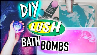 Diy Lush Bath Bombs + Demo!