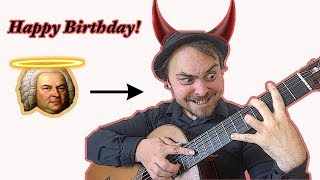 """""""Happy Birthday"""" in 10 Styles (BACH to BLACK METAL)"""