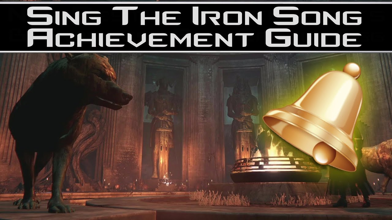how to get sing the iron song
