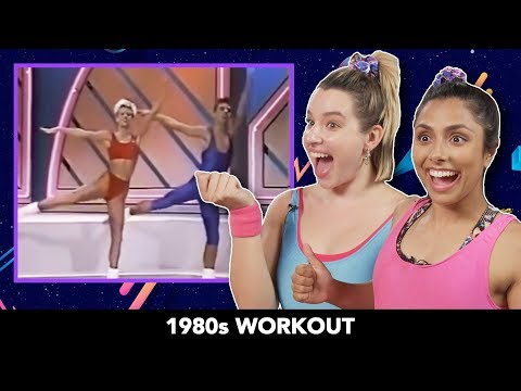 We Tried 1980s Workout Videos