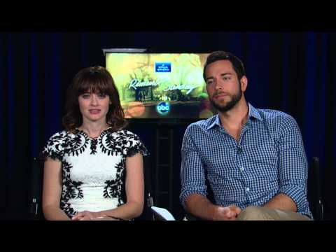 "Interview with Alexis Bledel and Zachary Levi ""Remember Sunday"" #HallmarkHallofFame #ABC"