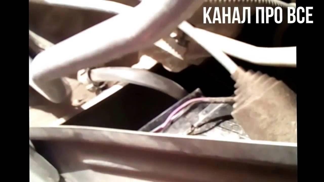 Замена лампы Н 4 в Рено Логан Фаза 2 - YouTube
