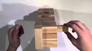 57. *sound Only* Wooden Building Blocks (asmr) - Kiwiwhispers