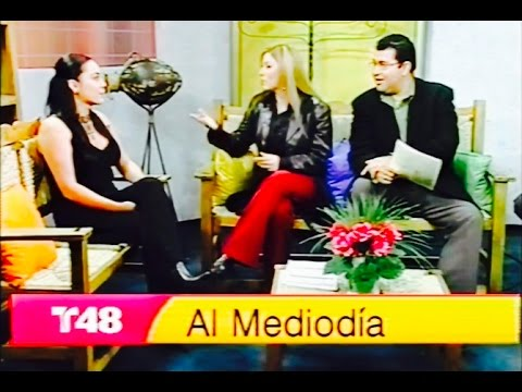 TELEMUNDO Carina San Francisco Celebrity Hair & Makeup Artist San Francisco TV Interview Mi Gente