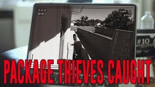 Package Thieves Caught | David Lopez