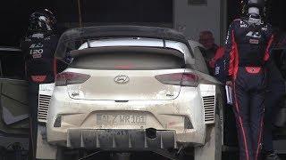 Hayden Paddon Hyundai i20 Coupe WRC Test Finland 2.6.2017