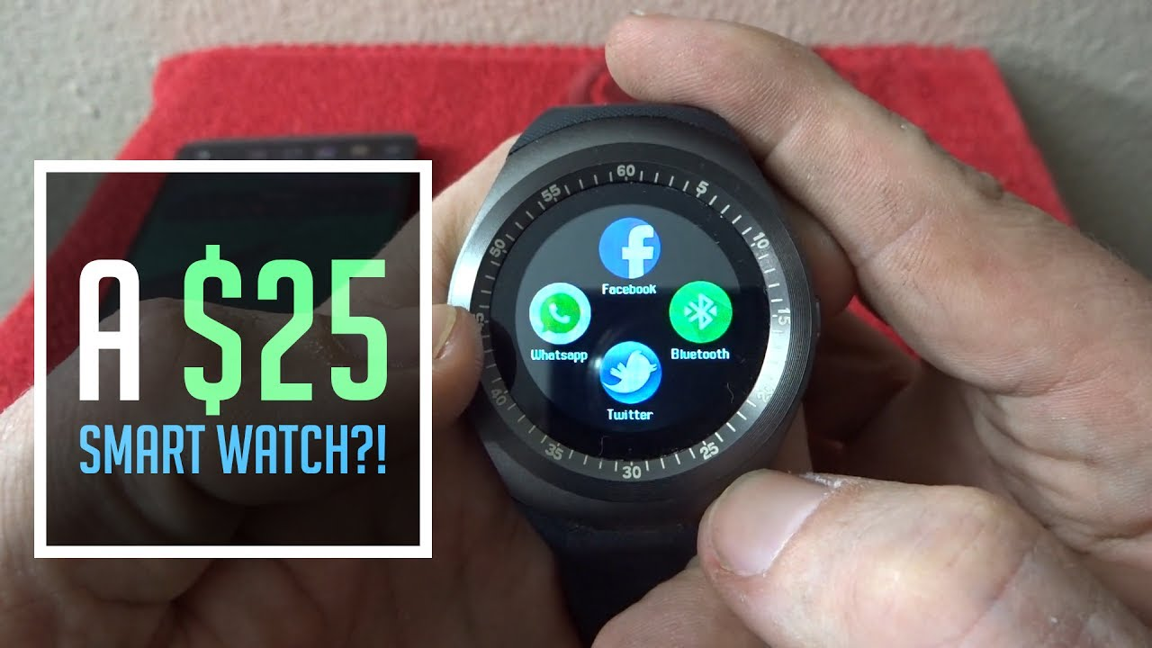 a79303d9c7f Review  WIM Y1 Smart Watch for Android and iOS - YouTube