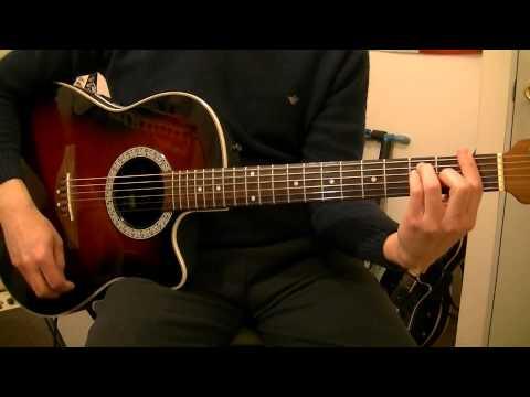 Gustavo Cerati   He Visto A Lucy   Guitar Cover