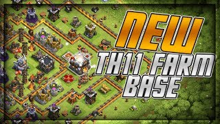 BEST TH11 Farm Base Speed Build Replays Clash of Clans