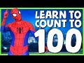 1 0 0 Learn To Count To 100 With Spiderman Spiderman Superhero Sing Along Songs mp3