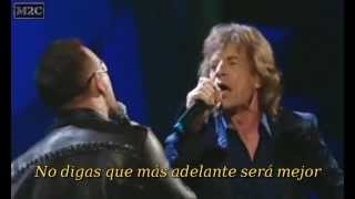 Baixar - U2 Mick Jagger Stuck In A Moment You Can T Get Out Of Subtitulos Español Grátis