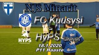 NJS Minarit P11 FC Kuusysi vs HyPS Sininen 18.11.2020