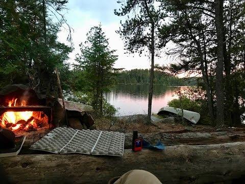 Fall Canoe Trip In The BWCA
