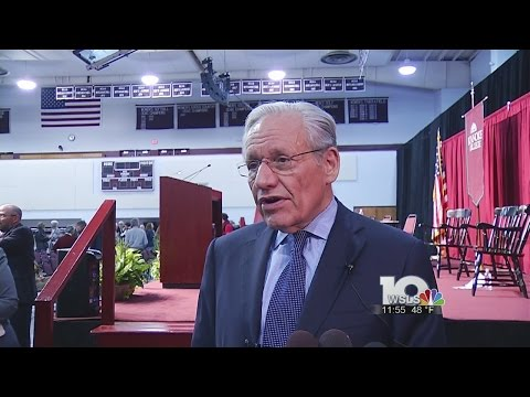 Bob Woodward speaks at Roanoke College