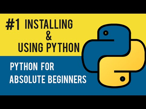 Python Programming Tutorial- 01 Introduction, Installation & Basic Syntax (With Free Project Files)