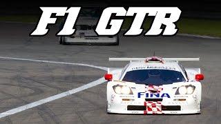 McLaren F1 GTR LM screaming V12 sounds (incl. idle u0026 revving) at Nürburgring 2014