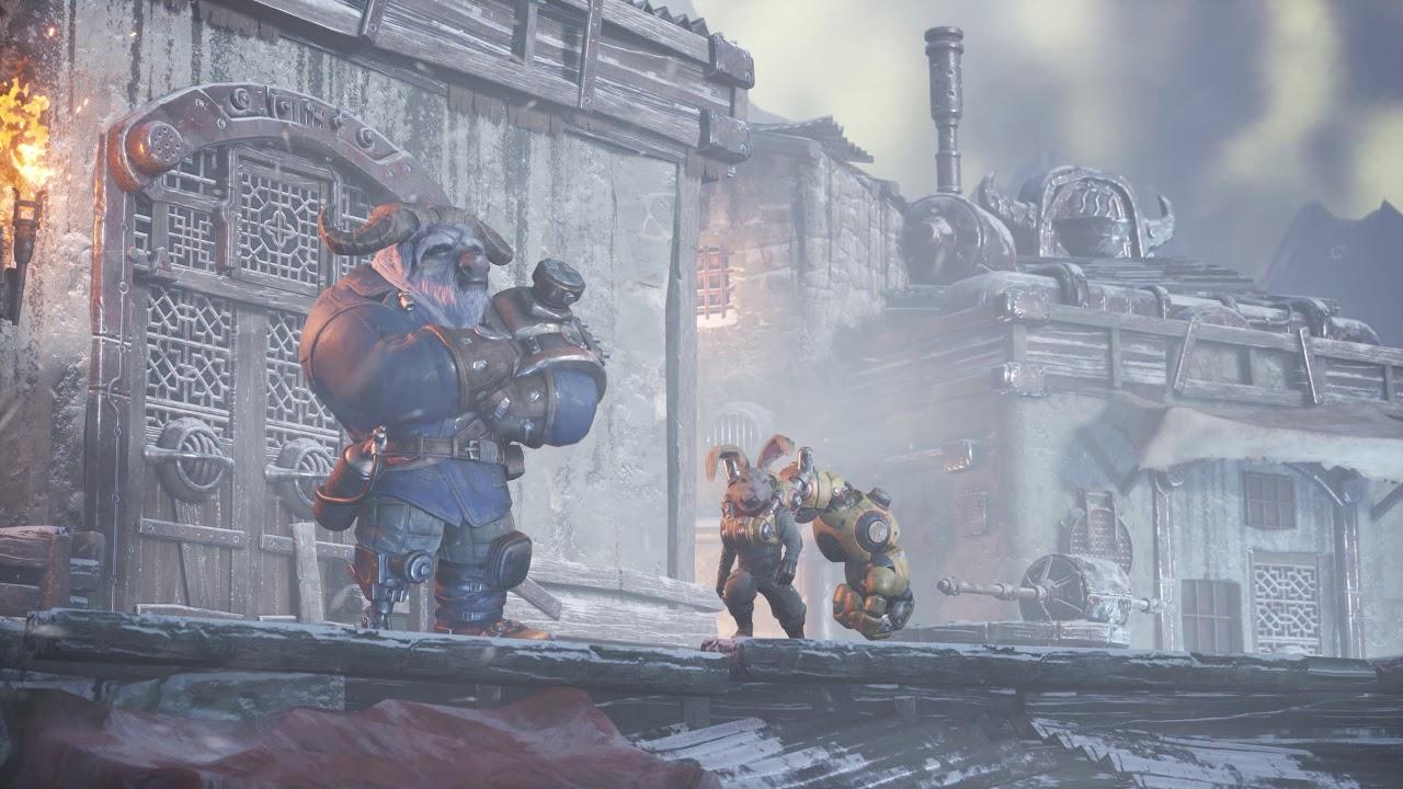 PS5 | PS4《F.I.S.T.》暗影火炬城 中文发表预告