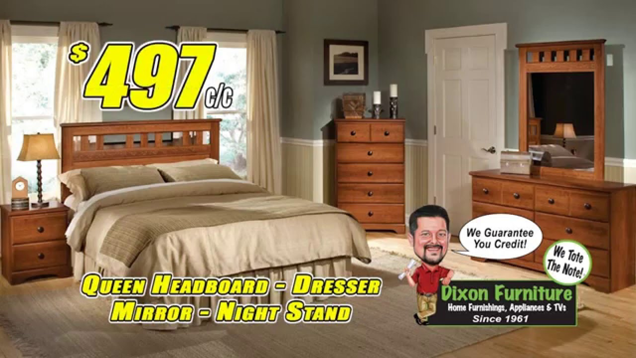 Dixon Furniture Choice Bedroom