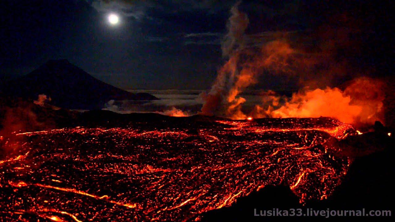 видеоролики о вулканах