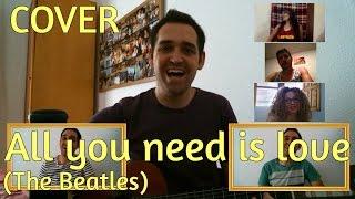 La canción que no pude cantar en Ahora Caigo: All you need is love (The Beatles cover)