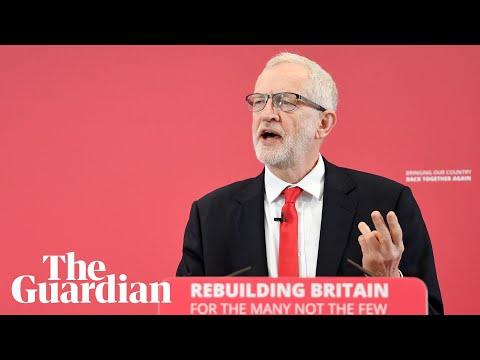 Jeremy Corbyn launches Labour's EU election campaign – watch live