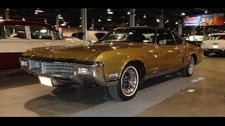 1969 Buick Riviera GS Gran Sport in Embassy Gold at World of Wheels My Car Story with Lou Costabile