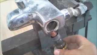 Comment d tartrer un robinet thermostatique grohe 2000 - Demonter robinet thermostatique ...