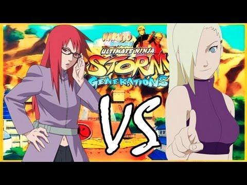 Naruto Shippuden Storm Generations - Karin VS Ino - Video Request [HD]