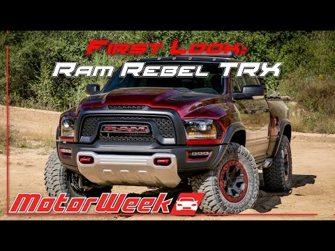 First Look: Hellcat-powered Ram Rebel TRX, Chevrolet ...