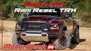 First Look: Hellcat-powered Ram Rebel TRX, Chevrolet Silverado HD