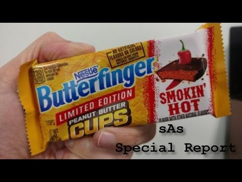 sAs Special Report: Butterfinger Smokin' Hot Peanut Butter Cups! (NEW!) (LIMITED EDITION!)